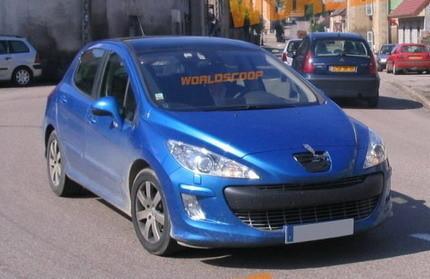 Peugeot 308 sin camuflaje