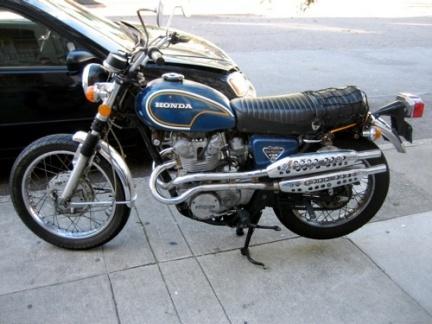 Honda 450 Scambler
