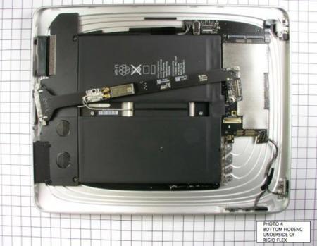 Imágenes del interior del iPad mostradas por la FCC [Especial lanzamiento iPad]
