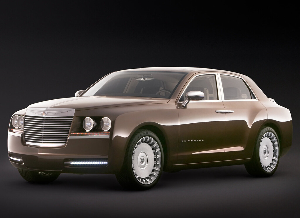 Chrysler Imperial 2006 Concept: lo que pudo haber sido el Rolls-Royce estadounidense moderno a un mejor precio