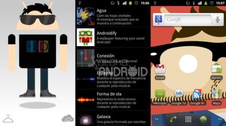 Androidify se actualiza, ahora ponlos como fondo de pantalla animado
