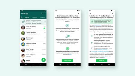 Cambios Terminos Condiciones Whatsapp Nuevo Aviso App