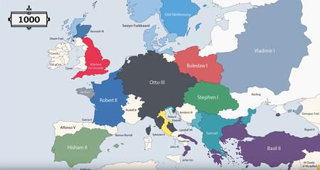Mapa 1000