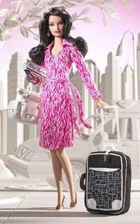 Diane Von Furstenberg viste a Barbie