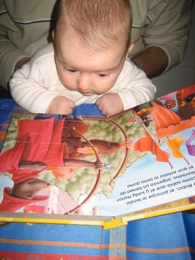 Feliz Día del Libro, niños