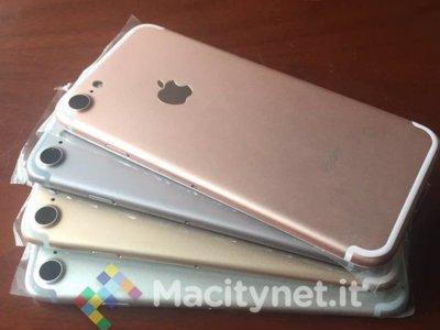 Aparecen nuevas imágenes del presunto iPhone 7 luciendo su nueva figura y varios colores