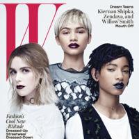 W Magazine: Kiernan, Zendaya y Willow