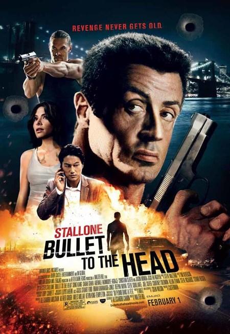 Una bala en la cabeza poster