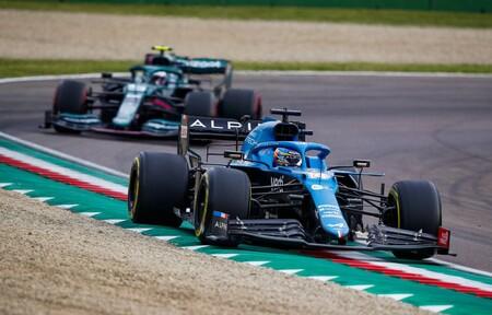Alonso Vettel Imola F1 2021