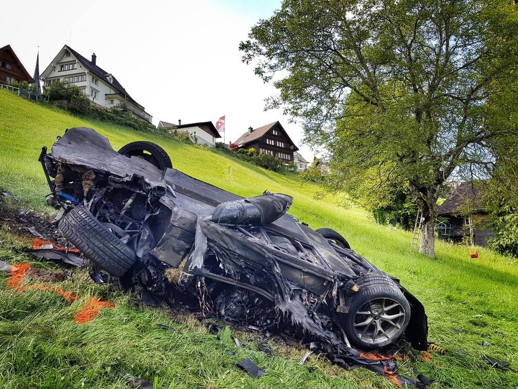 Rimac Concept One Richard Hammond accident