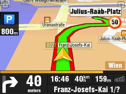 TeleAtlas McGuider, navegación GPS