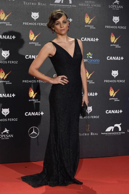 Leonor Waitling en los Premios Feroz 2015