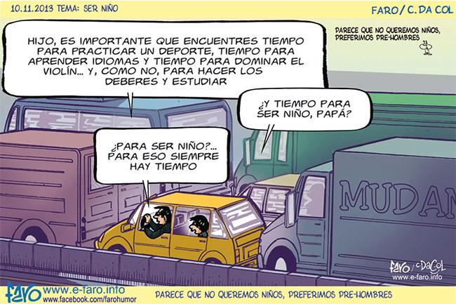 Los Que No Sean Ninos De Pequenos Lo Seran De Mayores