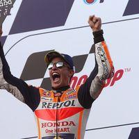 """Marc Márquez: """"He ganado a Dovizioso con su misma estrategia. No le he enseñado las cartas"""""""