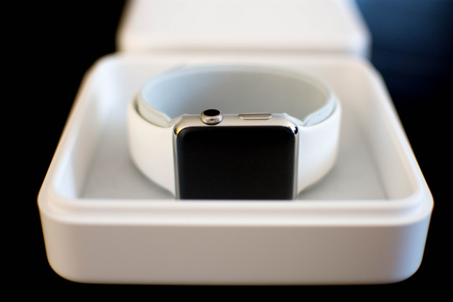 Caja Apple Watch acero