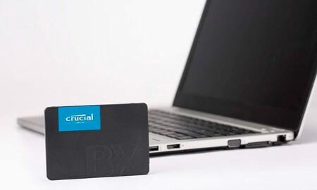 Ahora en Amazon tienes 2 TB en formato SSD para tu sobremesa o portátil por sólo 162,99 euros con este Crucial BX500
