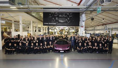 Lamborghini espera la llegada del Urus vendiendo 3.457 coches el año pasado, un 7% más