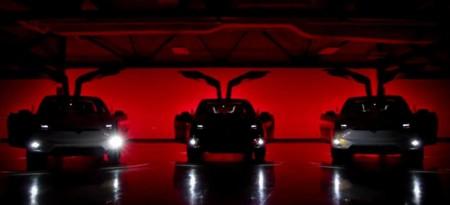 """Video: Conoce el """"Modo Navideño"""" del Tesla Model X"""