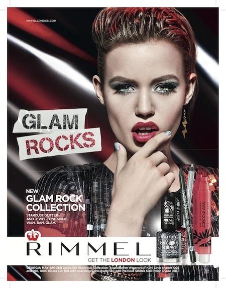 Georgia Jagger, la nueva estrella de Rimmel London