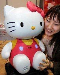 Hello Kitty trabajará de recepcionista en Japón