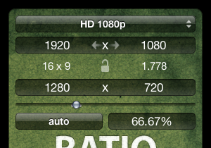 Ratio, widget para calcular resoluciones