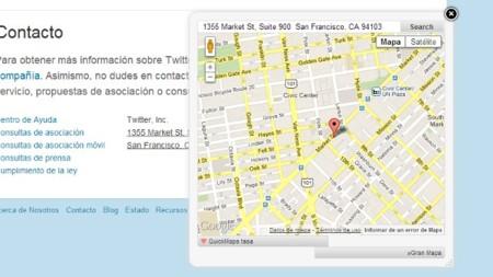 Accede en Firefox o Chrome a un mapa de cualquier dirección que encuentres en un sitio web con Quick Maps