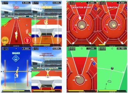 'Track & Field' llega al iPhone y al iPod Touch de Apple