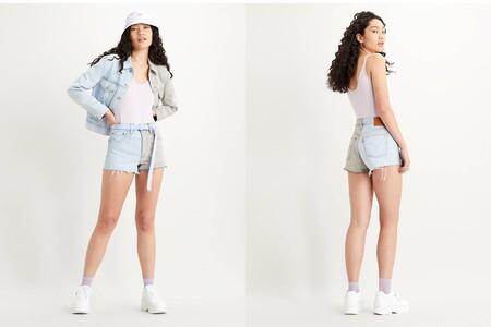 Levis Shorts 501 Bicolor