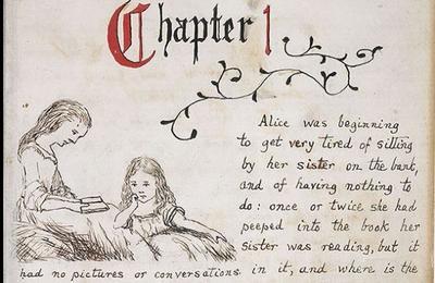 ¿Quieres ver el manuscrito ilustrado original de 'Alicia en el país de las maravillas'?