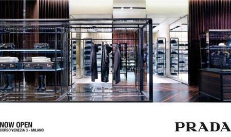 Nueva tienda Prada en Milán