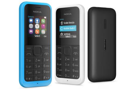 Nuevo Nokia 105, Microsoft no se olvida de los teléfonos simples renovando un superventas