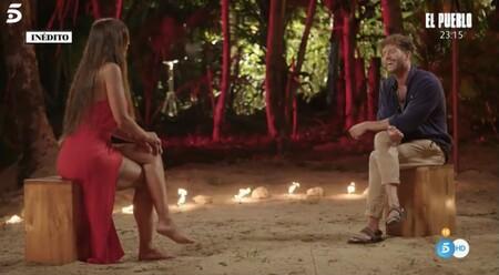 Fani Carbajo y Gonzalo Montoya en el círculo de fuego - Telecinco