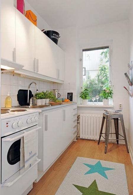 Una cocina típica sueca.