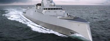 El diseño de proa invertida de la nueva fragata de la marina francesa es un desafío a siglos de ingenería naval