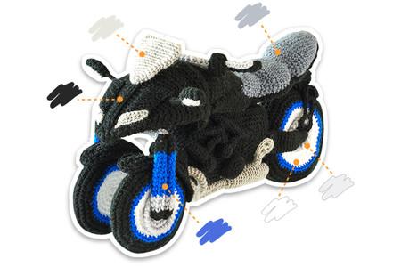 Yamaha Niken Amigurumi 1