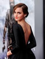 Emma Watson, divi como siempre en la premiere de 'Noah'