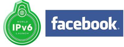 Facebook probará la implantación de IPv6 en su web el 18 de mayo