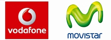 Movistar y Vodafone usan la misma imagen para sus anuncios