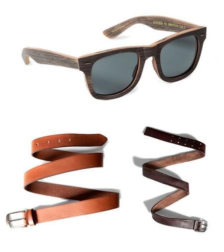 Gafas cinturones complementos heritage