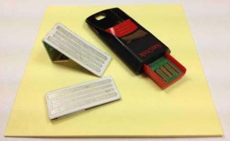 Intellipaper, ¿una memoria USB de usar y tirar?