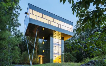 7 casas verticales que cambiaran tu manera de percibir el espacio