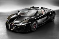 Bugatti Veyron Les Legendes: Black Bess - homenaje al Type 18