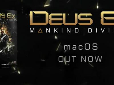 'Deus Ex: Mankind Divided' ya disponible para macOS