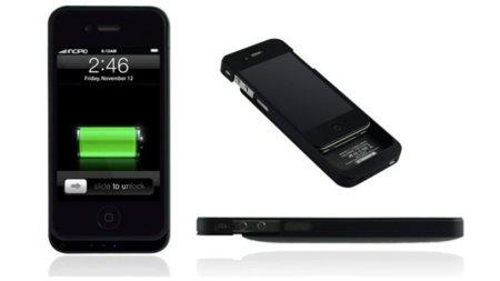 offGRID de Incipio, batería extra para el iPhone 4 en forma de carcasa protectora