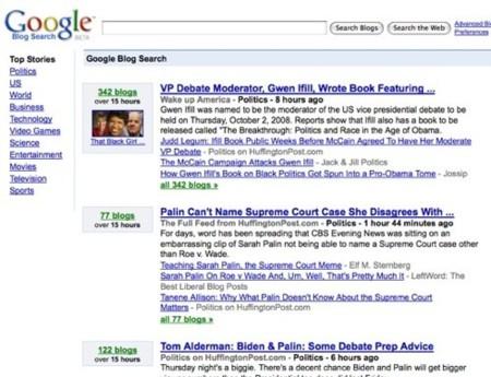 Google renueva Blog Search