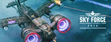 Sky Force 2014, análisis de un shoot-em-up impresionante para tu iPhone y iPad