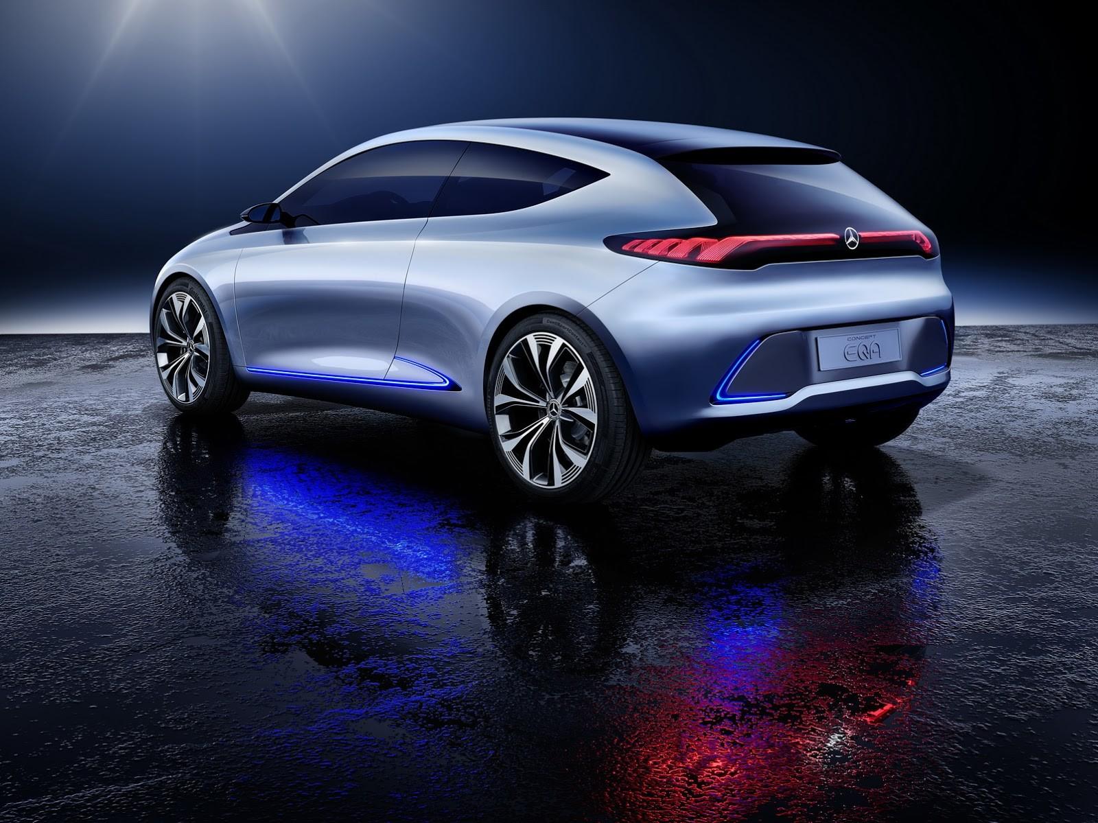 Foto de Mercedes-Benz EQ A Concept (9/15)