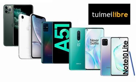Las ofertas de la semana en tuimeilibre: iPhone, Samsung Galaxy y OnePlus 8 a precios imbatibles
