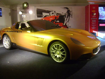 The Golden Ferrari reeditado por Pininfarina