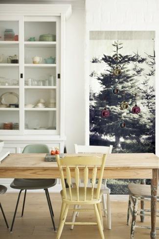 papel pintado arbol de navidad